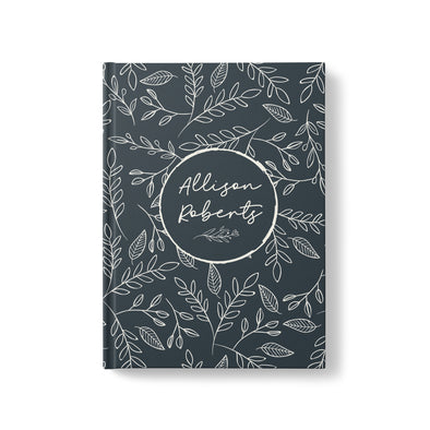 Rustic Foliage Personalized Journal