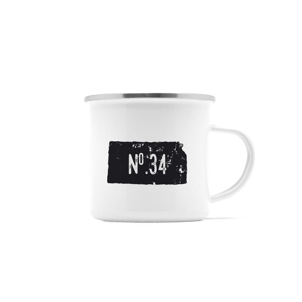No. 34 Kansas Camp Mug, 10 oz