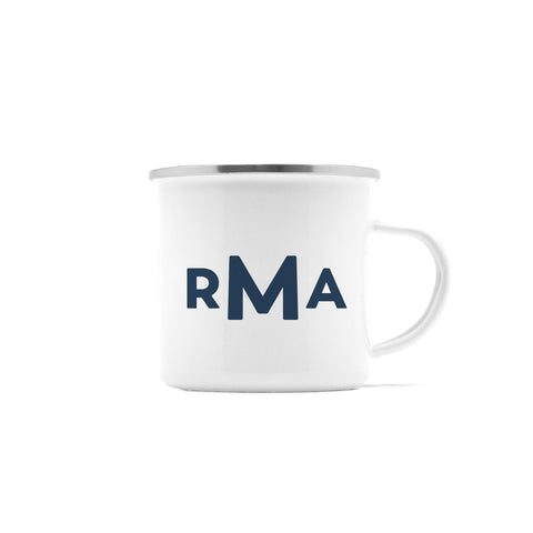 Modern Monogram Camp Mug, 10 oz