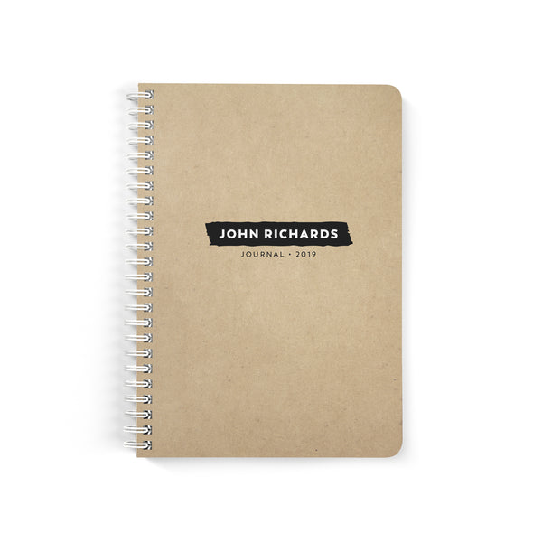 Simple Brush Notebook