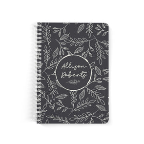Rustic Foliage Notebook