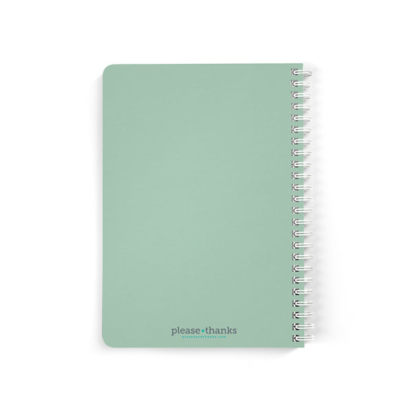 Green Kitten Notebook
