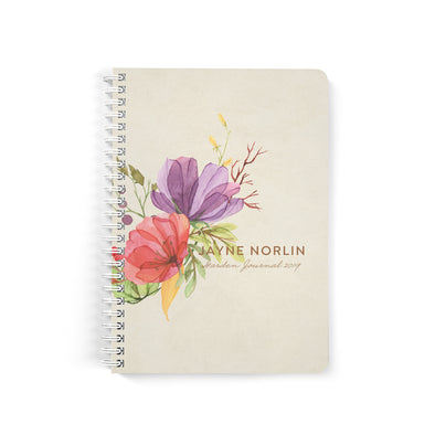 Colorful Florals Notebook