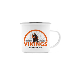 Viking Basketball Personalized Camp Mug