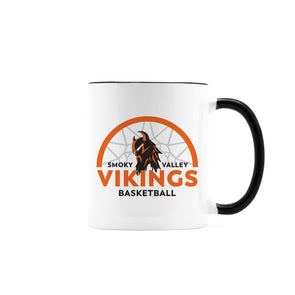 Viking Basketball Personalized Ceramic Mug