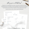 Wedding Planner Printable with Personalized Floral Cover