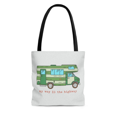 RV Life Road Trip Tote Bag