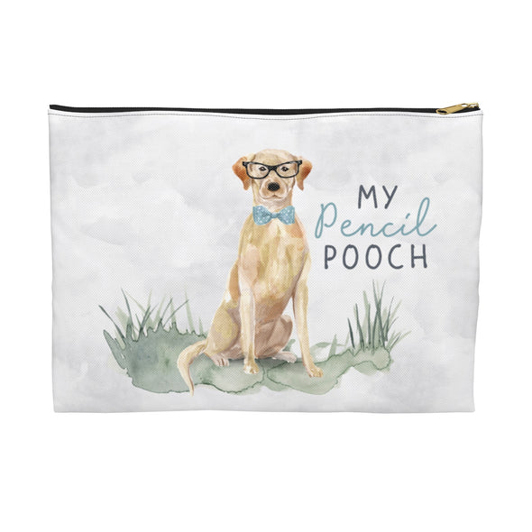Yellow Lab Pencil Pouch