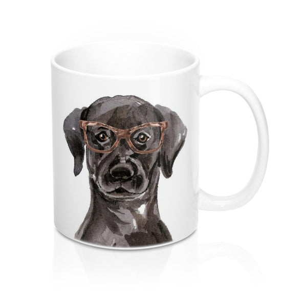 Black Lab Coffee Mug, 11 oz
