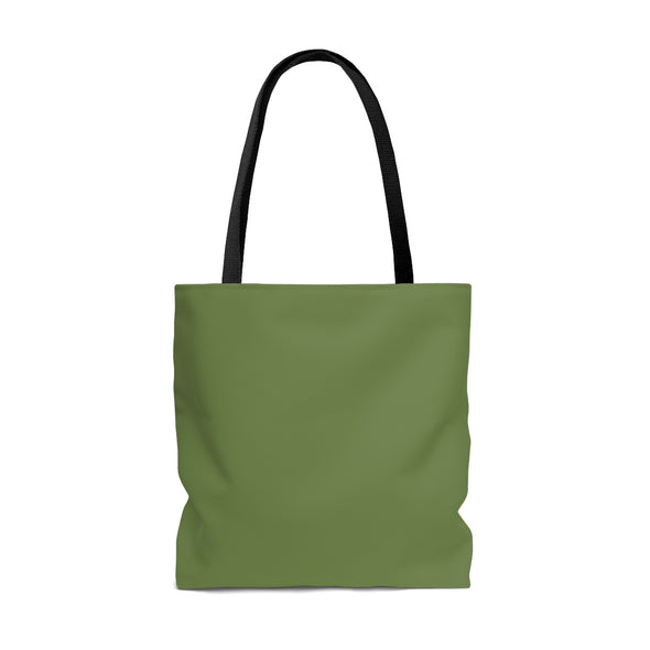 Personalized Garden Striped Tote Bag