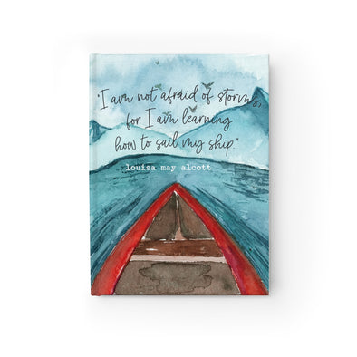 Sail My Ship Hardcover Journal