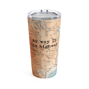 Retro Road Trip Drink Tumbler, 20 oz.