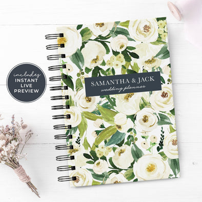 Custom Floral Wedding Planner