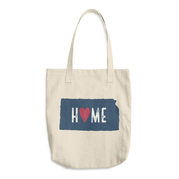 Home Kansas Cotton Tote Bag