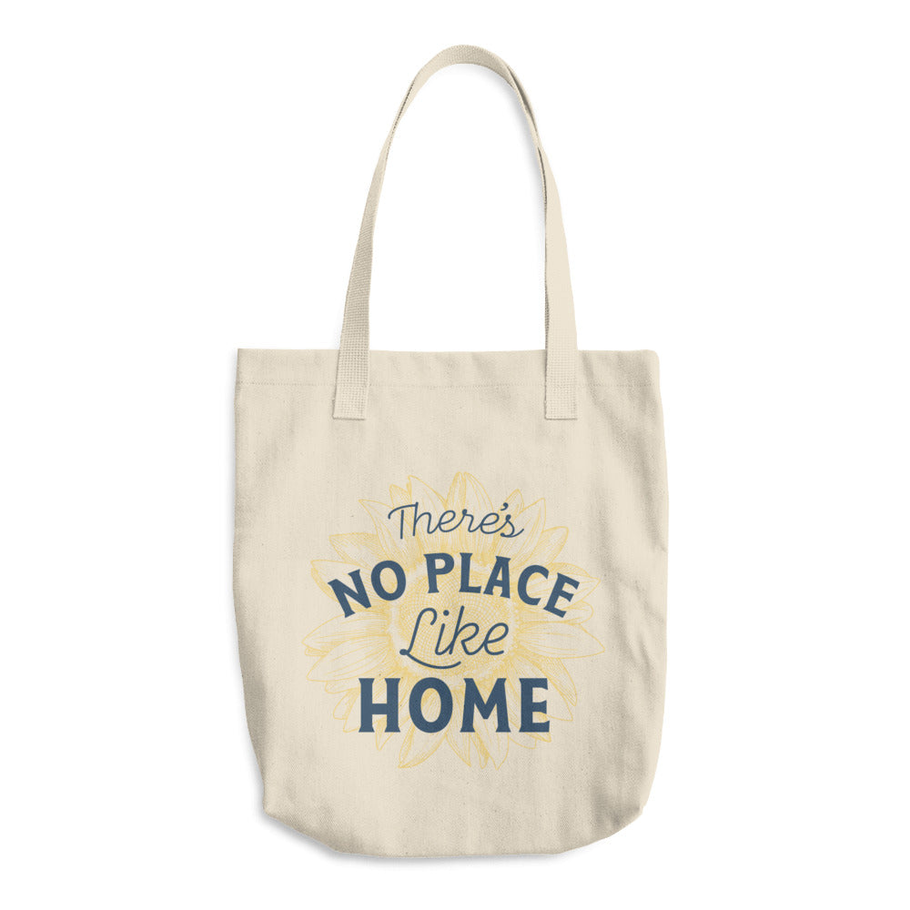 There's No Place Like Home Cotton Tote Bag