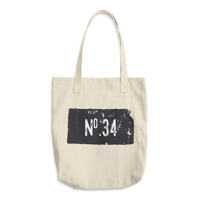 No. 34 Kansas Cotton Tote Bag