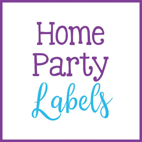 Home Party Labels
