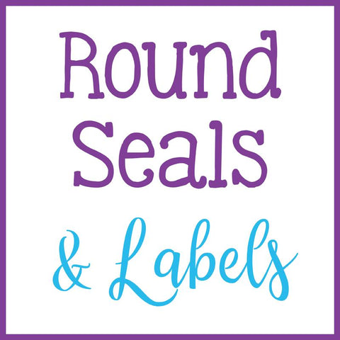 Round Labels and Seals