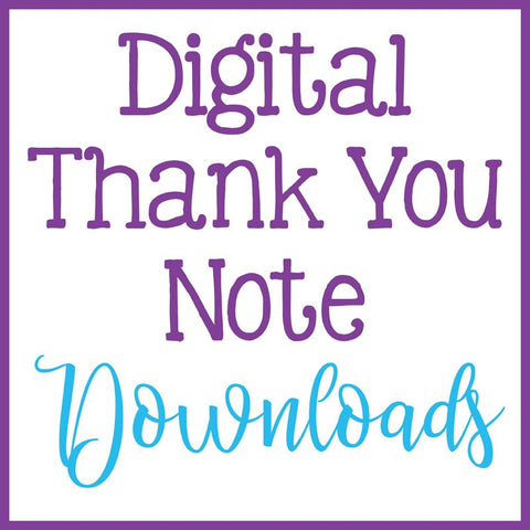 Thank You Notes - Instant Download
