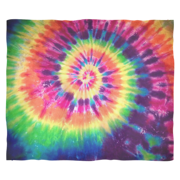 TIE DYE DESIGN Ultra Plush Fleece Blanket