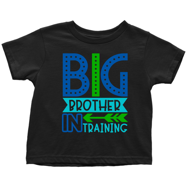 BIG BROTHER in TRAINING Toddler T-Shirt - J & S Graphics