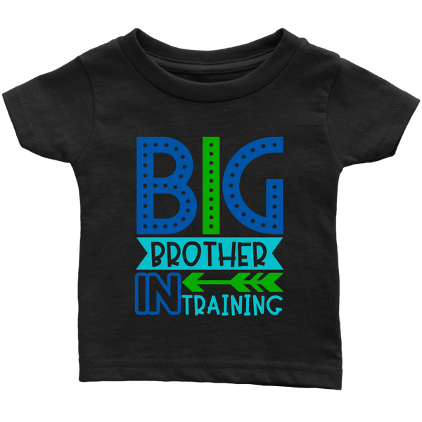 BIG BROTHER in TRAINING Infant T-Shirt - J & S Graphics