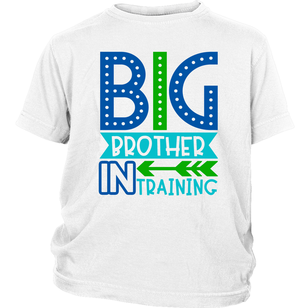 BIG BROTHER in TRAINING Youth / Child T-Shirt - J & S Graphics