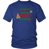 A Balanced Diet is a CHRISTMAS COOKIE in EACH HAND Unisex T-Shirt - J & S Graphics