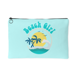 BEACH GIRL Accessory Pouch - 2 Sizes to choose from - J & S Graphics