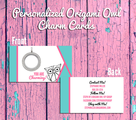 I just want to say thank you for your Origami Owl order ... | 513x580