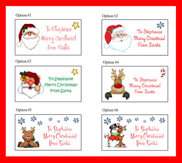 holiday return address labels and more tagged personalized