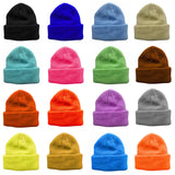 Sold Color Toddler Boys Cuffed Beanie Hats