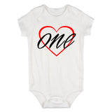 1st birthday girl Baby Bodysuit One Piece White
