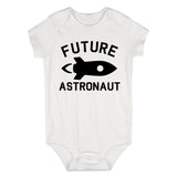 Astronaut Future Baby Bodysuit One Piece White