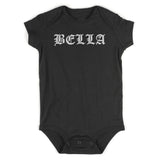 Bella Girl Goth Baby Bodysuit One Piece Black