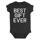 Best Gift Ever Baby Bodysuit One Piece Black