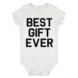 Best Gift Ever Baby Bodysuit One Piece White