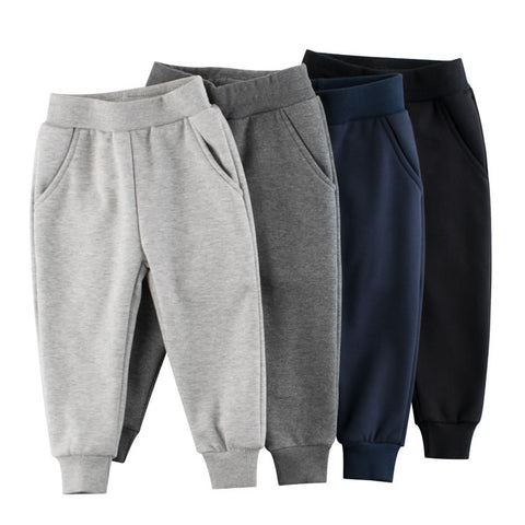 Blank Toddler Boys Fleece Jogger Sweatpants