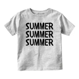 Dat Milk Doe Funny Baby Infant Short Sleeve T-Shirt Grey