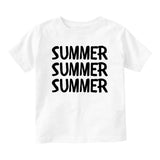 Dat Milk Doe Funny Baby Infant Short Sleeve T-Shirt White
