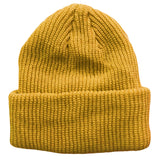 Gold Yellow Toddler Boys Girls Cuffed Winter Beanie Hat