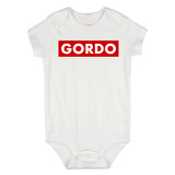 Gordo Chunky Baby Baby Bodysuit One Piece White