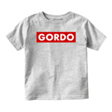 Gordo Chunky Baby Baby Toddler Short Sleeve T-Shirt Grey