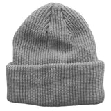 Grey Toddler Boys Girls Cuffed Winter Beanie Hat