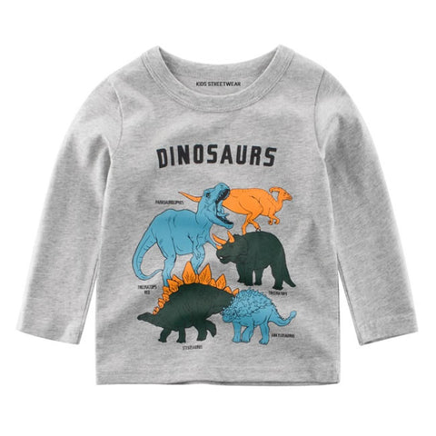 Dinosaur Birthday Toddler Long Sleeve T Shirt