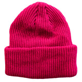 Hot Pink Toddler Boys Girls Cuffed Winter Beanie Hat