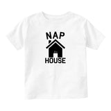 Nap House Sleep Funny Baby Infant Short Sleeve T-Shirt White