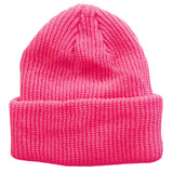 Pink Toddler Boys Girls Cuffed Winter Beanie Hat