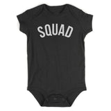 Suuad Arch Baby Bodysuit One Piece Black