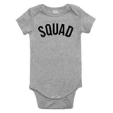 Suuad Arch Baby Bodysuit One Piece Grey